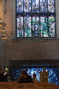 Writing in St. Giles' Cathedral