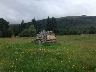 The birthplace of the first chief of the Cameron Clan in Erracht.