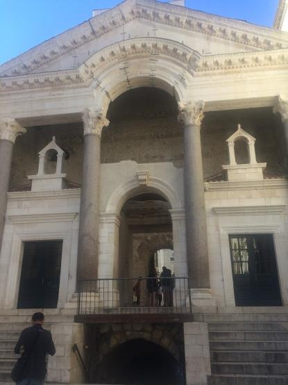 His palace